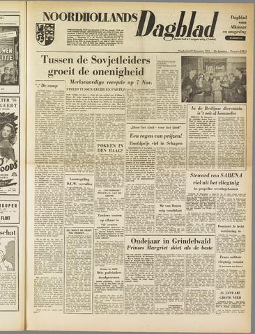Noordhollands Dagblad : dagblad voor Alkmaar en omgeving 1953-12-31