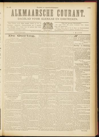 Alkmaarsche Courant 1917-03-07