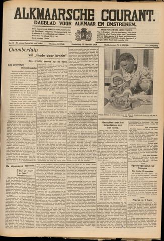 Alkmaarsche Courant 1939-02-23