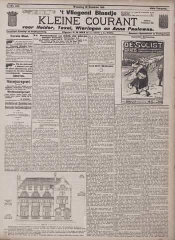 Vliegend blaadje : nieuws- en advertentiebode voor Den Helder 1912-12-25