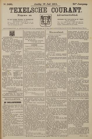 Texelsche Courant 1911-07-16