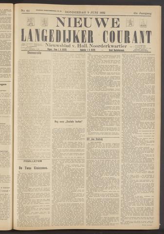Nieuwe Langedijker Courant 1932-06-09