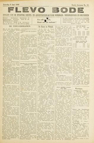 Flevo-bode: nieuwsblad voor Wieringen-Wieringermeer 1946-06-08