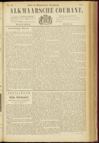 Alkmaarsche Courant 1896-07-22