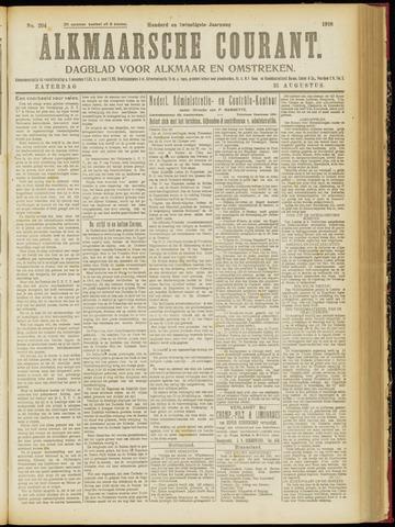 Alkmaarsche Courant 1918-08-31