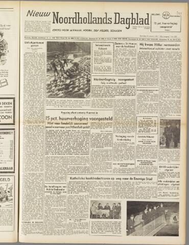 Nieuw Noordhollandsch Dagblad : voor Alkmaar en omgeving 1950-01-21