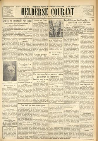 Heldersche Courant 1948-09-15
