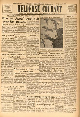 Heldersche Courant 1952-11-18