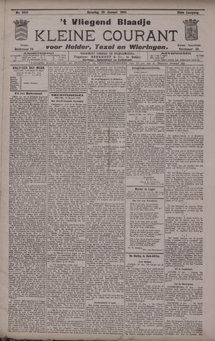 Vliegend blaadje : nieuws- en advertentiebode voor Den Helder 1900-01-20