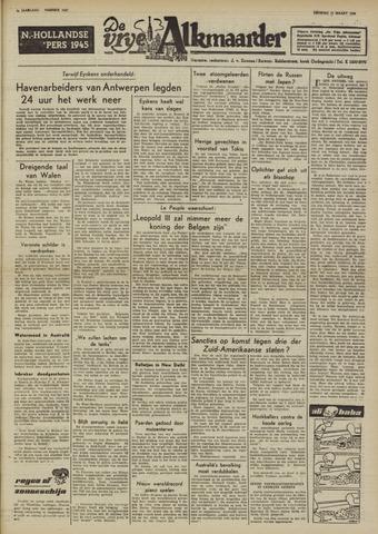 De Vrije Alkmaarder 1950-03-21