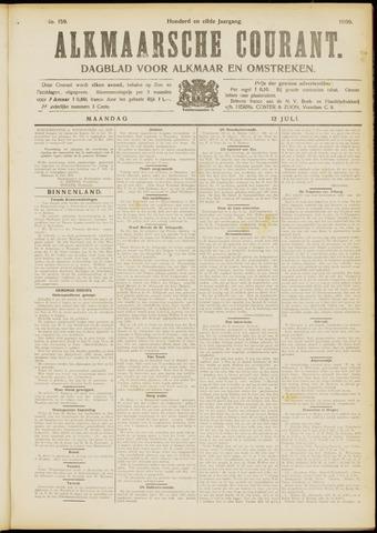 Alkmaarsche Courant 1909-07-12