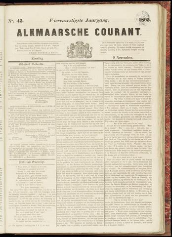 Alkmaarsche Courant 1862-11-09