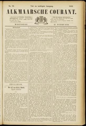 Alkmaarsche Courant 1882-02-22