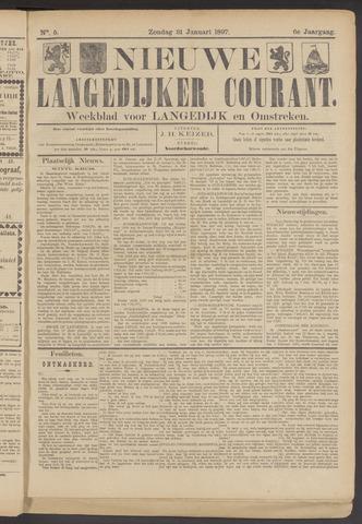 Nieuwe Langedijker Courant 1897-01-31