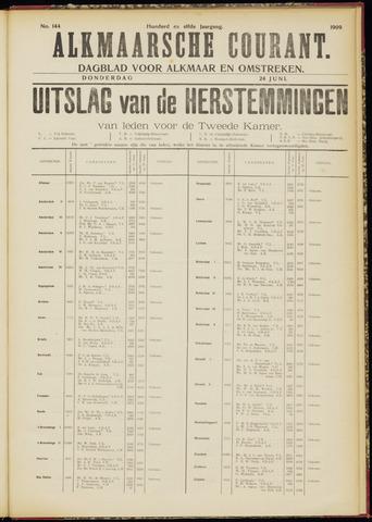Alkmaarsche Courant 1909-06-24