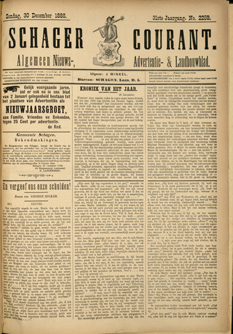 Schager Courant 1888-12-30