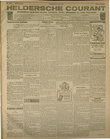 Heldersche Courant 1931-07-09