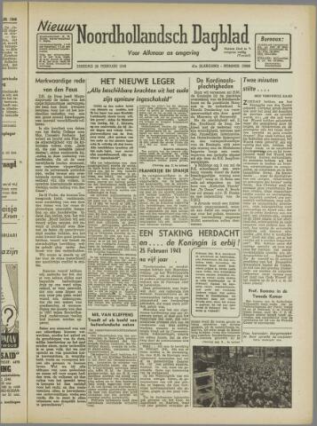 Nieuw Noordhollandsch Dagblad : voor Alkmaar en omgeving 1946-02-26