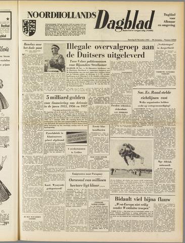 Noordhollands Dagblad : dagblad voor Alkmaar en omgeving 1953-11-21