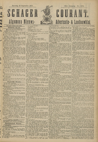 Schager Courant 1911-09-30