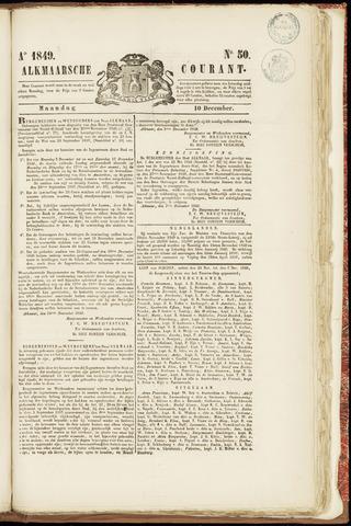 Alkmaarsche Courant 1849-12-10
