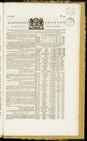 Alkmaarsche Courant 1838-10-08