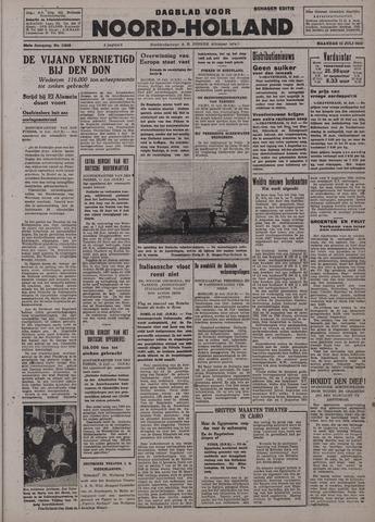 Dagblad Noord-Holland, Schager editie 1942-07-13