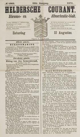 Heldersche Courant 1871-08-12