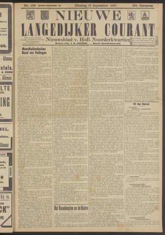 Nieuwe Langedijker Courant 1927-09-13