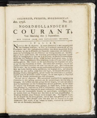 Noordhollandsche Courant 1798-09-03