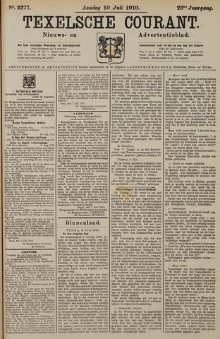 Texelsche Courant 1910-07-10