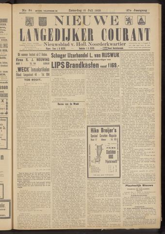 Nieuwe Langedijker Courant 1928-07-21
