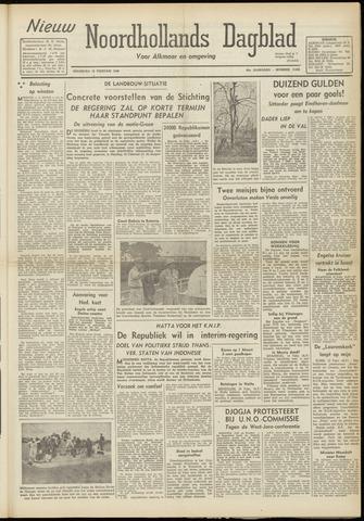 Nieuw Noordhollandsch Dagblad : voor Alkmaar en omgeving 1948-02-16