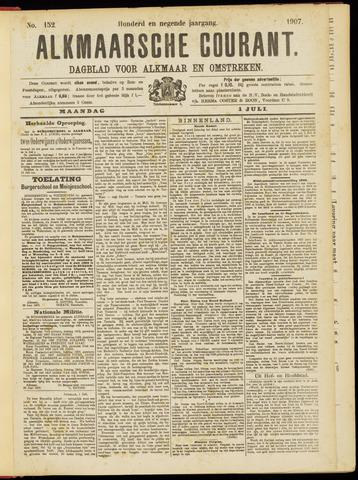 Alkmaarsche Courant 1907-07-01
