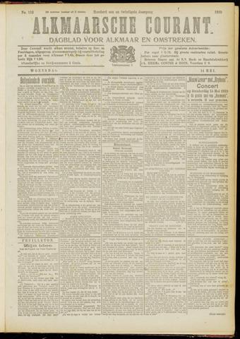 Alkmaarsche Courant 1919-05-14