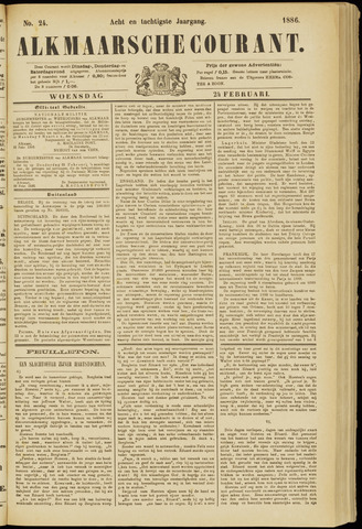 Alkmaarsche Courant 1886-02-24