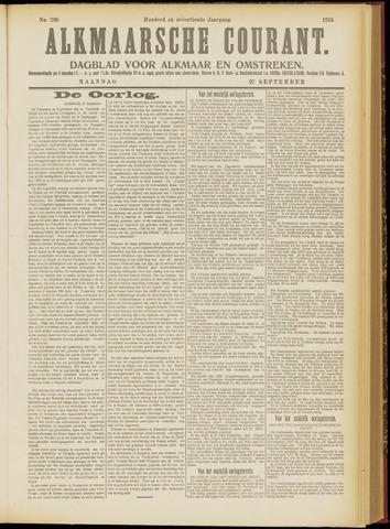 Alkmaarsche Courant 1915-09-27
