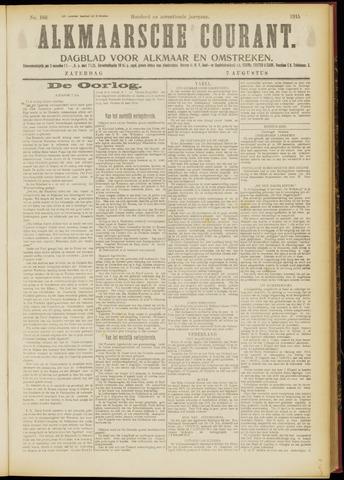 Alkmaarsche Courant 1915-08-07