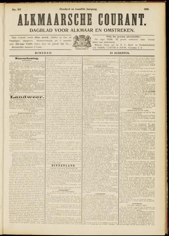 Alkmaarsche Courant 1910-08-23