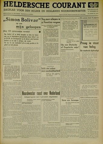 Heldersche Courant 1939-11-20