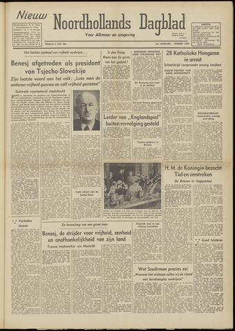 Nieuw Noordhollandsch Dagblad : voor Alkmaar en omgeving 1948-06-08
