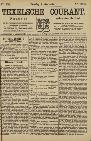 Texelsche Courant 1894-11-04