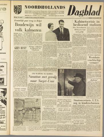 Noordhollands Dagblad : dagblad voor Alkmaar en omgeving 1960-12-30