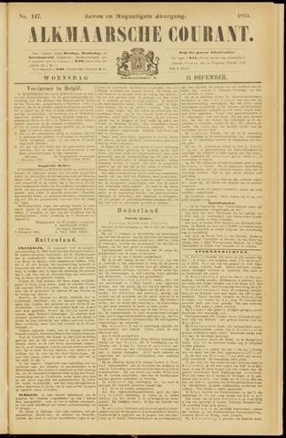 Alkmaarsche Courant 1895-12-11
