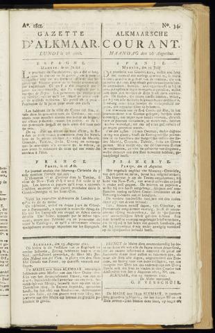 Alkmaarsche Courant 1811-08-26