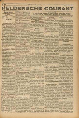Heldersche Courant 1924-07-31