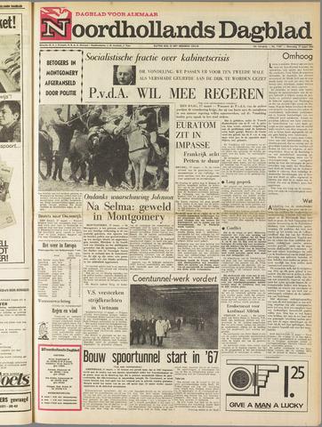 Noordhollands Dagblad : dagblad voor Alkmaar en omgeving 1965-03-17