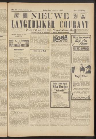 Nieuwe Langedijker Courant 1927-06-25
