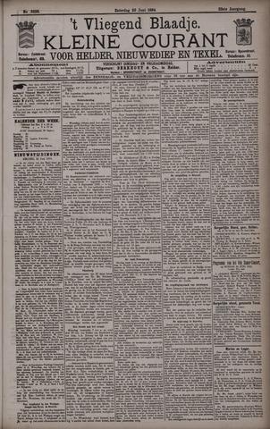Vliegend blaadje : nieuws- en advertentiebode voor Den Helder 1894-06-23