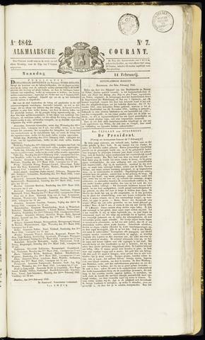 Alkmaarsche Courant 1842-02-14